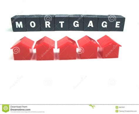 houses mortgage mortgage and houses royalty free stock photography image