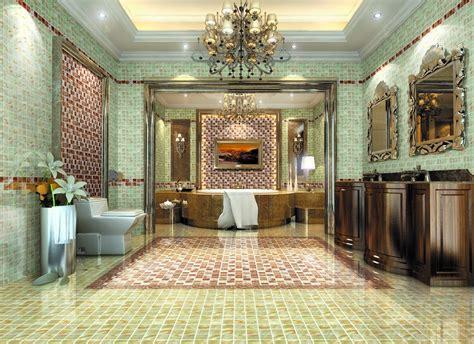 Luxury bathroom interior design interior 3d european luxury bathroom