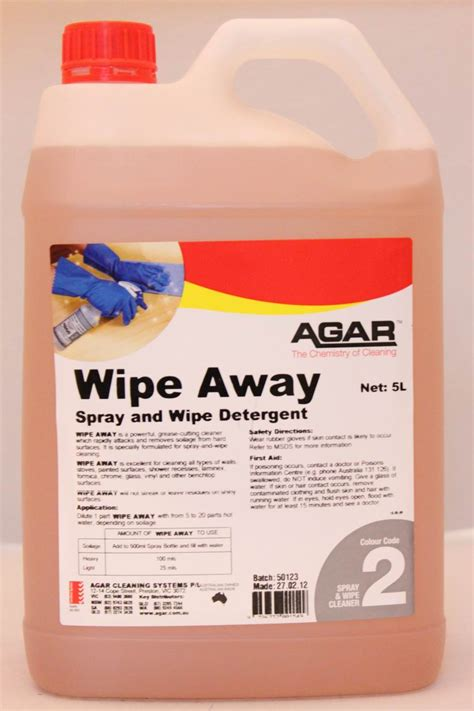 No Wipe Shower Cleaner by Agar Wipe Away Spray And Wipe Cleaner 5l