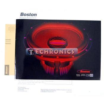 Speaker Oval Boston boston acoustics spg 555 4 13 quot single 4 ohms spg series