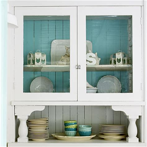 Painted Hutch Ideas paint ideas hutch with turquoise back easy ways to