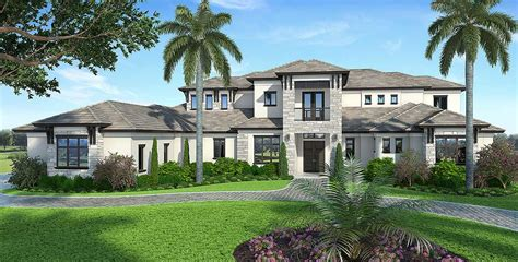 spacious contemporary florida house plan 86025bw architectural designs house plans