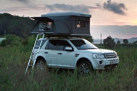 rv hardtop awnings iker introduces world s first expandable roof top tent