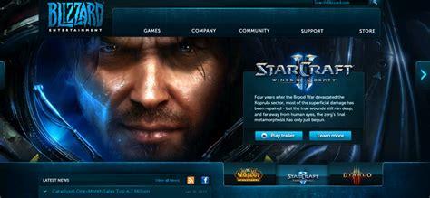 game design websites free gaming website design inspiration and exles