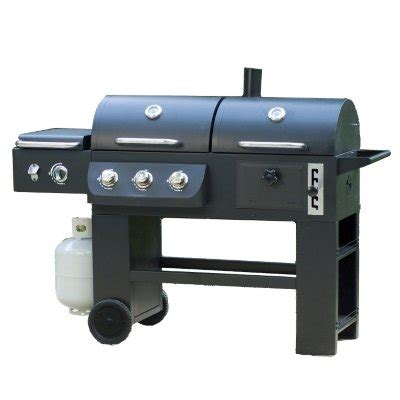 rankam hybrid grill infrared gas and charcoal cooking