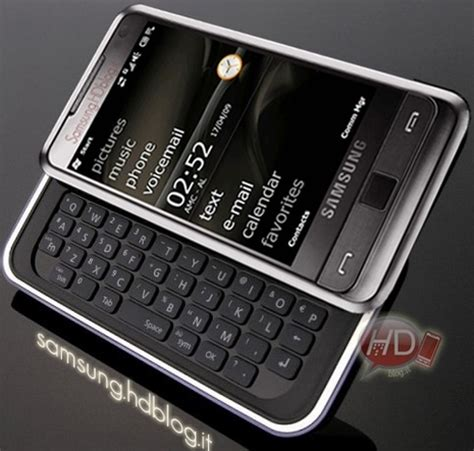 samsung omnia pro to pack qwerty keyboard, hit the market