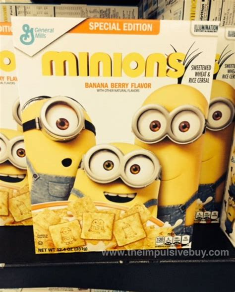 Special Edition Banner Minion spotted on shelves general mills special edition minions cereal the impulsive buy