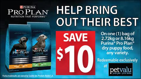 purina pro plan puppy coupons high value purina pro plan puppy food coupon