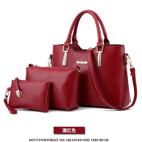 Tas Batam B2408 Murah jual b7660 winered tas import set 3in1 grosirimpor