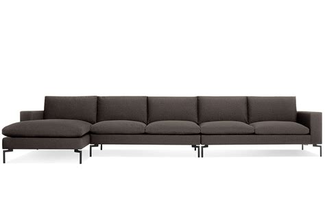 new settee new standard medium sectional sofa hivemodern com