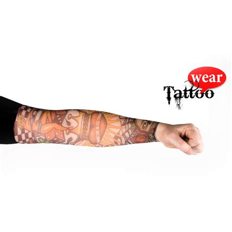 tattoo arm karneval tattoo 196 rmel stulpen fasching verkleidung sleeve dragon