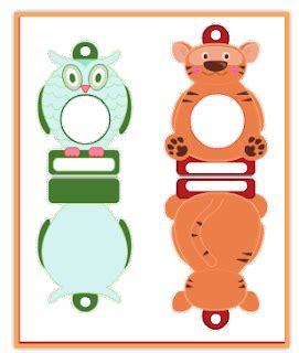 Printable Christmas Ornament Picture Frames | free printable animal christmas frame ornaments jinxy kids