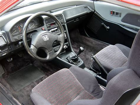 Honda Crx Interior by Just A Car 1991 Honda Crx Si