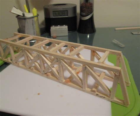 how to make a wooden bridge balsa wood bridge design plans the best bridge 2017
