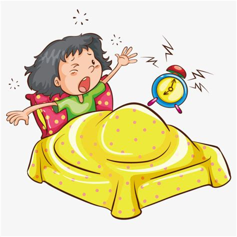 imagenes get up get up vector alarm clock yellow family of four girl