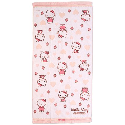 hello kitty bathtub hello kitty bath towel dx heart sanrio japan japan in a box