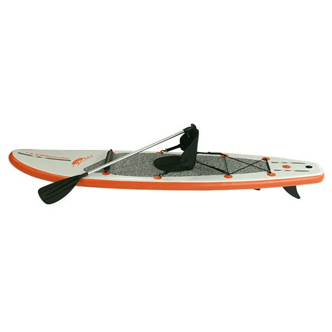 pathfinder boat seats blueborn pathfinder z ray sup stand up sit on top paddle