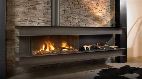 Gas Fired Fireplace by Bespoke Fireplaces To Suit Your Modern Lifestyle