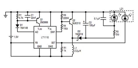 laser diode driver application note lt magazine circuit collection volume 1 eeweb community