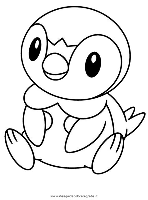 Pokemon Coloring Pages Piplup | piplup pokemon coloring pages az coloring pages