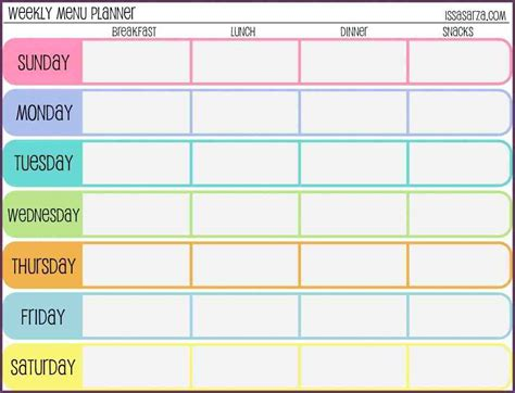 fitness calendar template weekly workout schedule template cvsleform