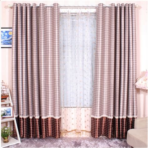 pink plaid curtains dusky pink curtains with plaid patterns have different feel