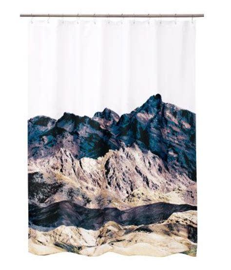 mountain shower curtain mountain shower curtain lovely things pinterest