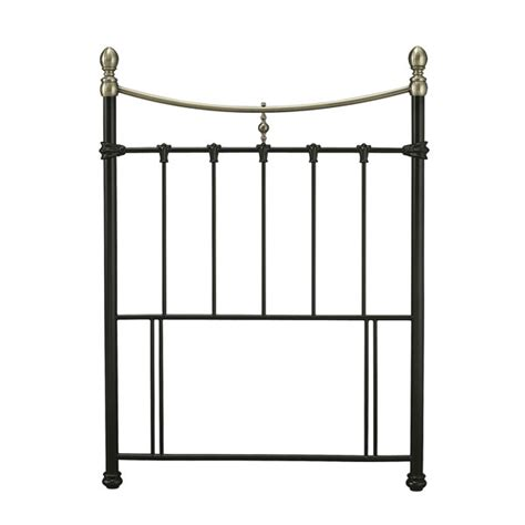 single metal headboard serene edwardian ii 3ft single metal headboard