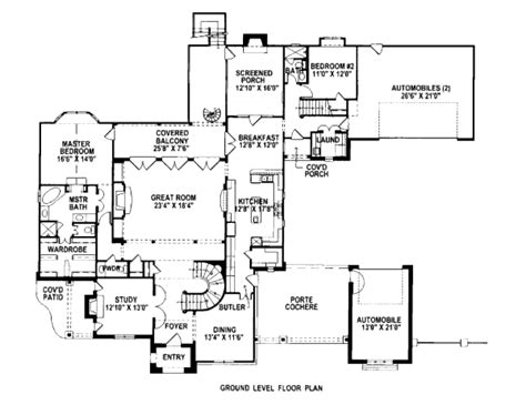european style floor plans european style house plan 4 beds 5 5 baths 5108 sq ft