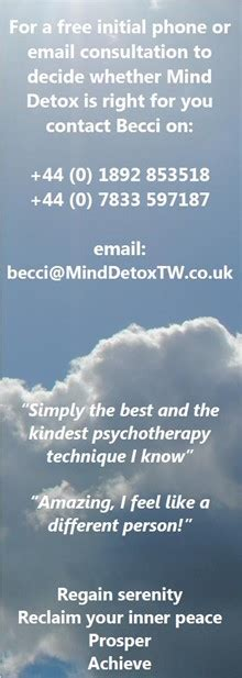 Mind Detox Tunbridge by S Story Mind Detox Tunbridge