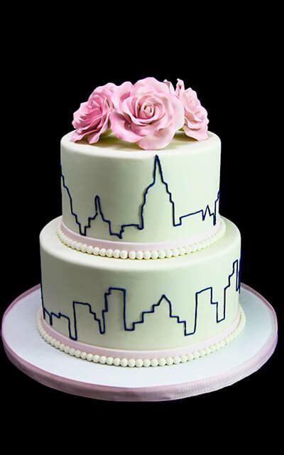 New Wedding Cake by New York Skyline Roses Wedding Cake Butterfly Bake