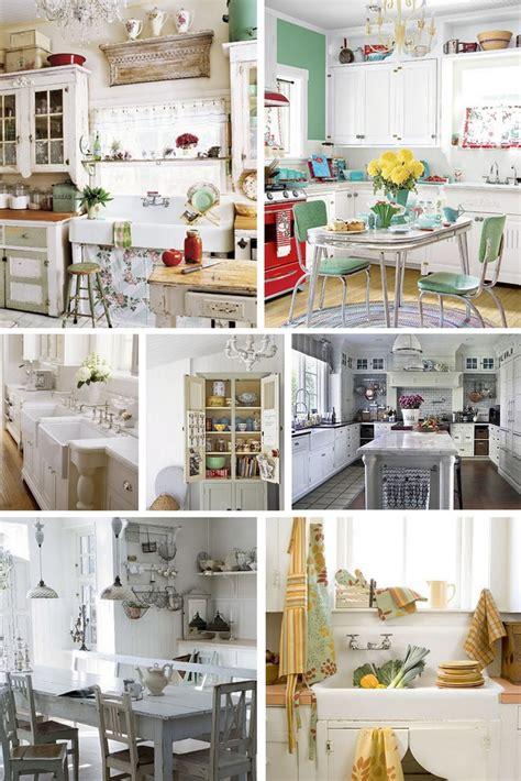 vintage inspired kitchen the design inspirationalist a rustic vintage inspired