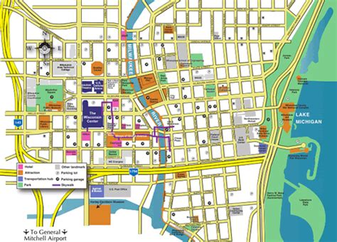 map of downtown map of downtown milwaukee clubmotorseattle
