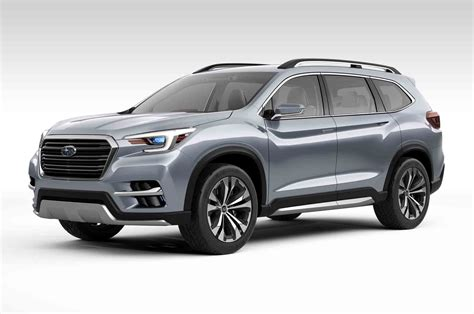 subaru suv concept subaru ascent concept previews upcoming three row