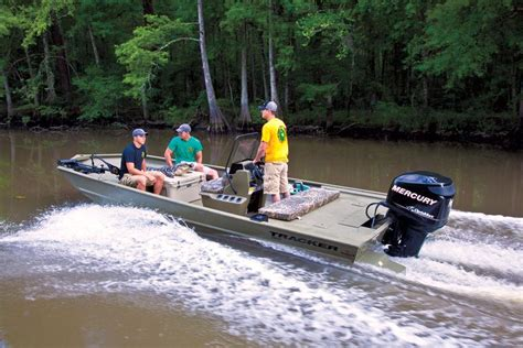 tracker boats all welded jon boats 2014 grizzly 2072 - Grizzly Chases Boat