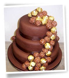 Handcrafted Cakes - decorated cakes on ferrero rocher cakes and