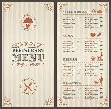 menu design eye movement menus strategic factory owings mills md