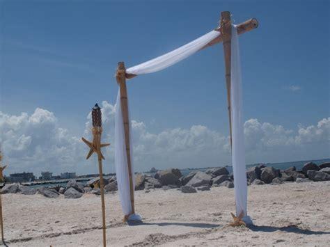 Bamboo Wedding Arch/Beach Wedding Arch/Bamboo Chuppah/Wedding