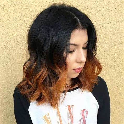 clavicle length ombre hair 31 best shoulder length bob hairstyles stayglam