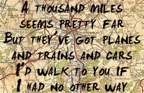 we re a thousand miles from comfort lyrics lyrics a thousand miles aw best friend image 745289