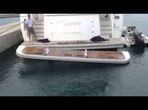 dinghy for my boat dinghy lifts inc broke my boat youtube