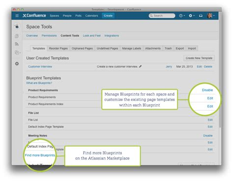 confluence create template confluence 5 1 release notes atlassian documentation