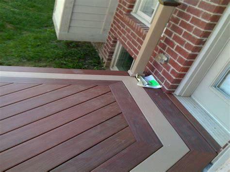 deck stain colors  home depot deck design  ideas