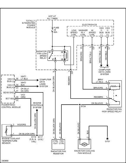 95 dodge intrepid cooling fan wiring intrepid free printable wiring diagrams