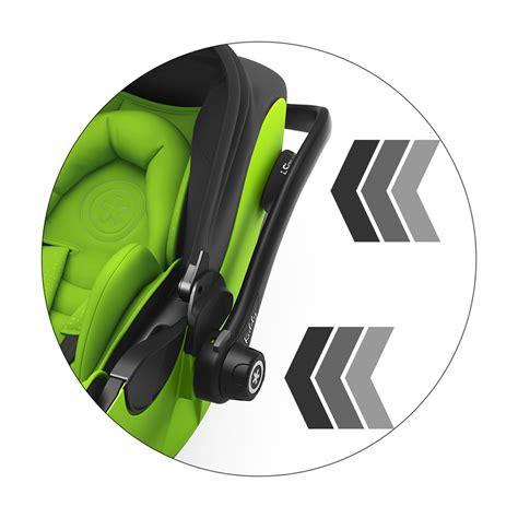 siege auto kiddy isofix si 232 ge auto evoluna i size avec base isofix lime green