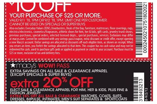 macys coupon today