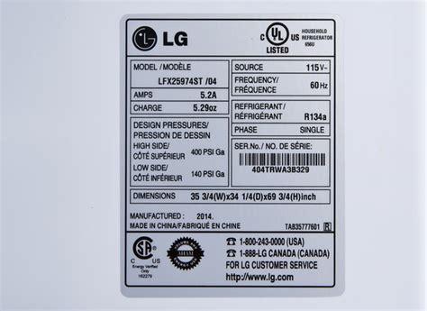 lg door refrigerator reviews consumer reports lg lfx25974st refrigerator consumer reports