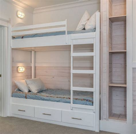 Built In Bunk Beds Plans Best 25 Built In Bunks Ideas On Pinterest