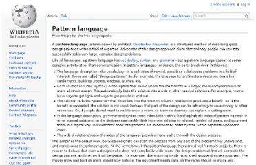 review a pattern language a pattern language alexander 171 free knitting patterns