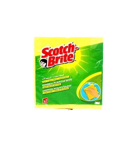 scotch brite scotch brite 4 general purpose wipes supermart ae